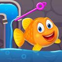 魚を救う-ピンゲームを引く android