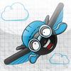 Stick-man Wingsuit - 男の子と女の子のための無料の楽しい飛行ゲーム ios