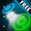 Arcade Fun Night : Midnight Neon Air Hockey Table - Free ios