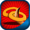 Onion ring shooting contest - Hungry kids summer game ios